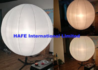 1.6 M 800W Dimmable Halogen Balloon Lighting With 4.2m Or 5.8m Heavy Duty Tripod