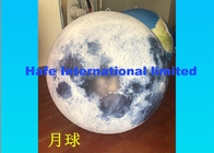 Moon Inflatable Advertising Balloon 2.2m , Custom Inflatable Balloons With LED Light