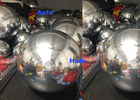 Small 80cm Inflatable Mirror Balloon Floating Silver Reflective Balloon