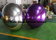 1.5M Christmas Inflatable Mirror Ball , Led Balloon Nightclub Decoration