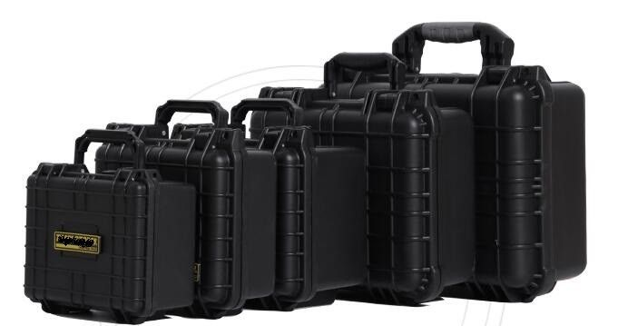 Shockproof Long ABS Military Rifle Case Battery Plastic Computer Equipment Carrying