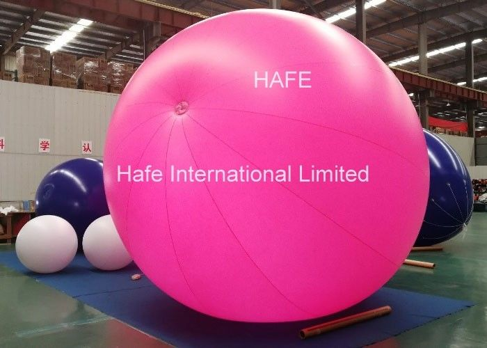 3m LED Light Candy Color Inflatable Helium Balloon For Advertising And Party