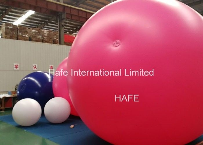 Inflatable Giant Floating Led Lighting Balloons , Pvc Light Up Balloons Promotional
