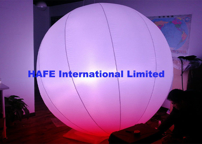 Programmable Led Balloon Lights Decorative Inflatable Lighting Balloon Stage Use