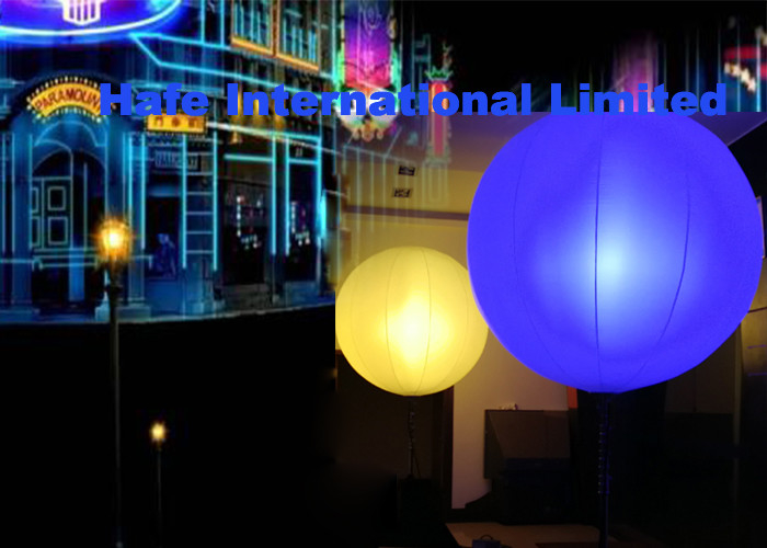 6500k Muse RGBW 400W Balloons With Lights With 512 DMX Hanging Or Mounted Inatallation