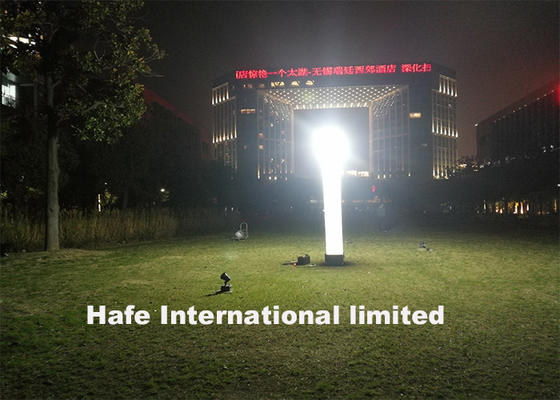Compact High Efficiency Inflatable Light Tower 1000W Metal Halide Multiple Power Options